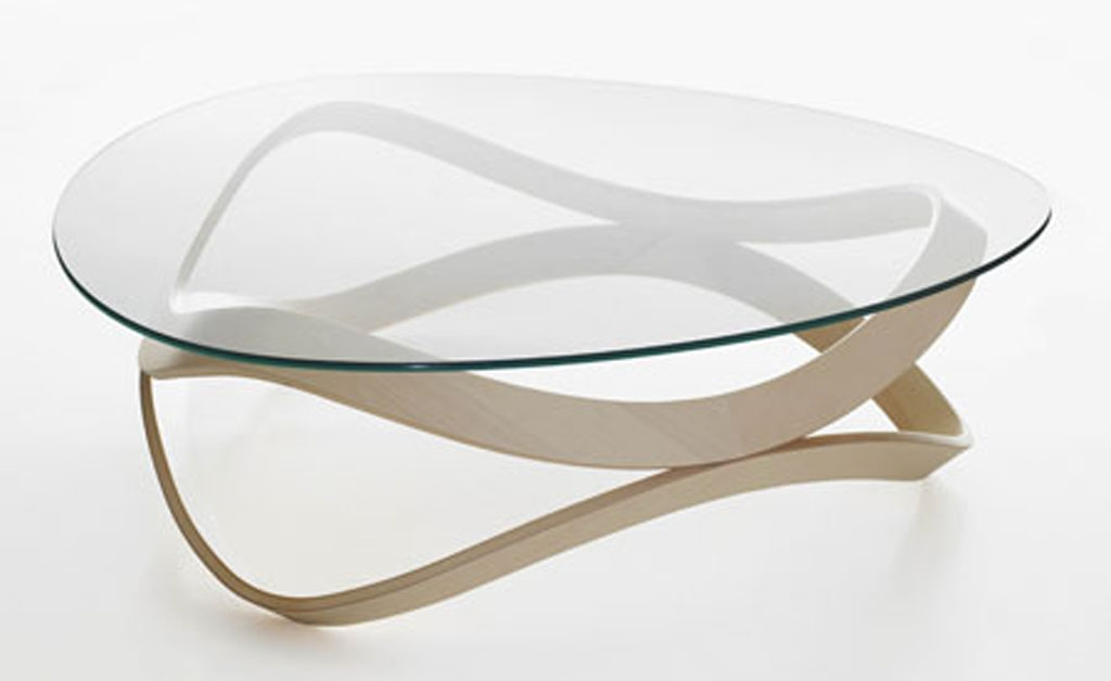Glass Modern Coffee Table Modern Glass Coffee Tables Oval Glass most certainly intended for Glass Coffee Tables (Image 14 of 20)