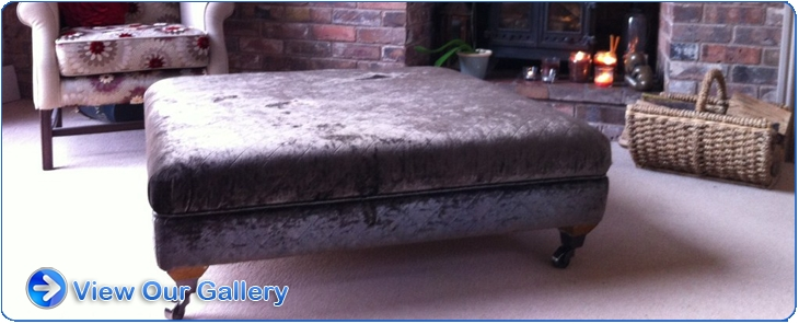Good Looking Large Upholstered Footstool Chesterfield Oxford Deep clearly within Large Footstools (Image 10 of 20)