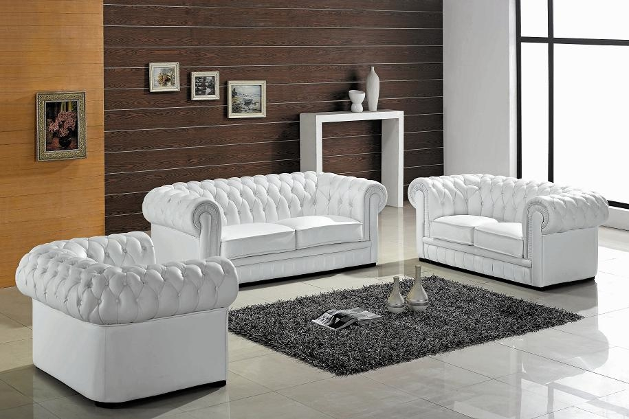 Good Looking Modern Leather Living Room Sets Remodel Regarding The perfectly intended for Living Room Sofas (Image 8 of 20)