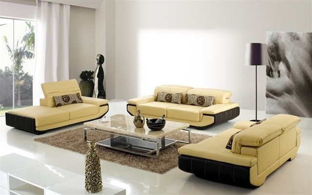 Gorgeous Contemporary Sofa Set Grey Modern Contemporary Fabric very well with regard to Contemporary Sofas And Chairs (Image 7 of 20)