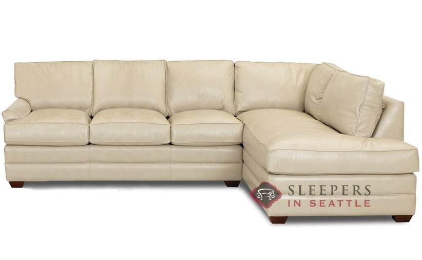 Gorgeous Leather Sleeper Sectional Sofa Sofa Beds Design properly within Sectional Sofas With Sleeper and Chaise (Image 14 of 20)
