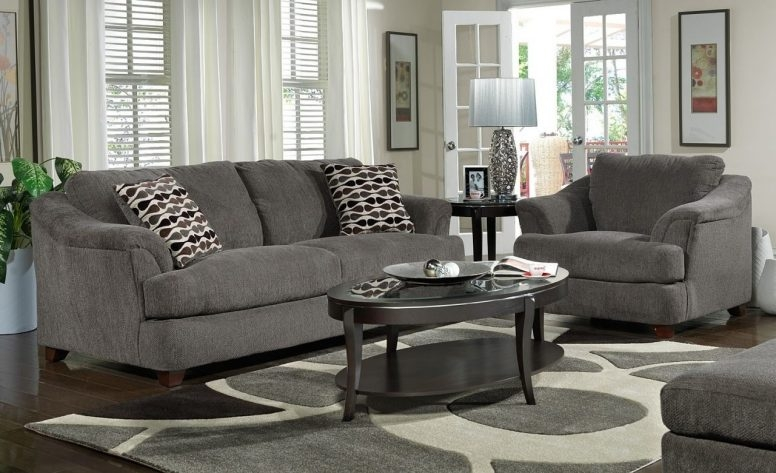 Gray And White Living Room Ideas High Window Grey Sofa Blue good intended for Grey Sofa Chairs (Image 13 of 20)