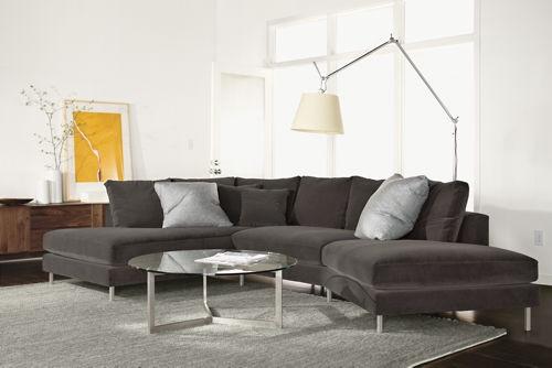 Gray Angled Sectional Sofa 15 Remarkable Angled Sectional Sofa most certainly in Angled Sofa Sectional (Image 7 of 20)