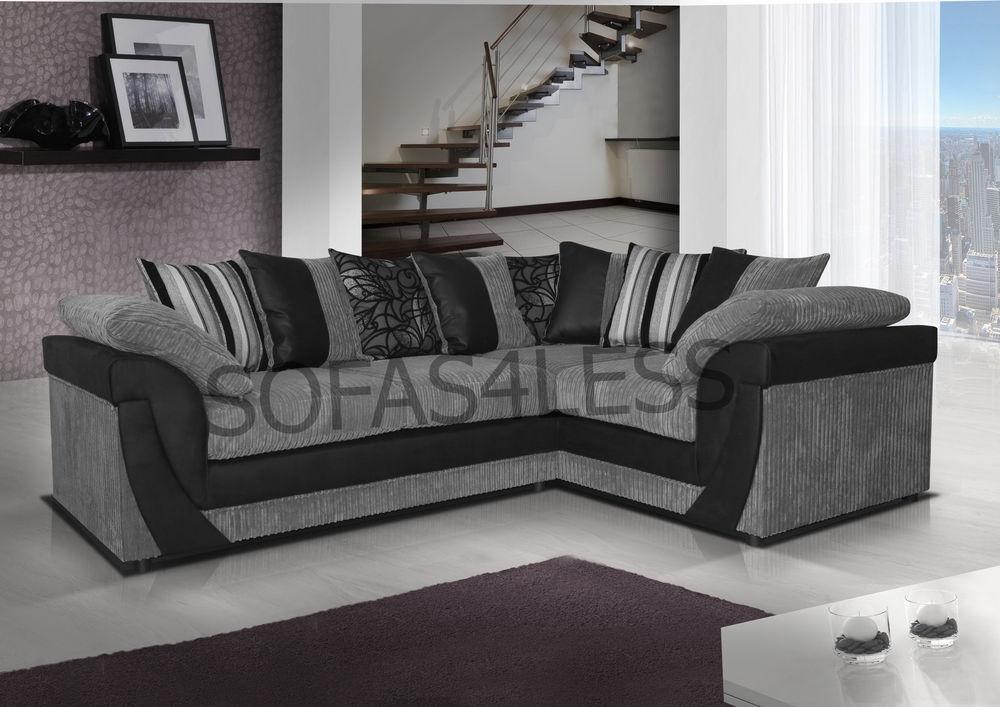 Gray Corner Sofa Fabric Modern Sofas River Academy certainly inside Fabric Corner Sofa Bed (Image 12 of 20)