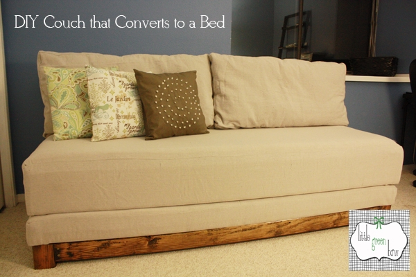 Great Ideas 20 Diy Ideas For 2012 Paint Drop Sand Paper And perfectly regarding Diy Sleeper Sofa (Image 16 of 20)