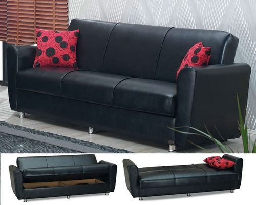 Great Leather Sofa Bed With Storage With Leather Sofa Bed With certainly with regard to Leather Sofa Beds With Storage (Image 12 of 20)