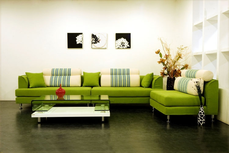 Green Sofa Style Architecture Interior Design nicely inside Green Sofa Chairs (Image 15 of 20)