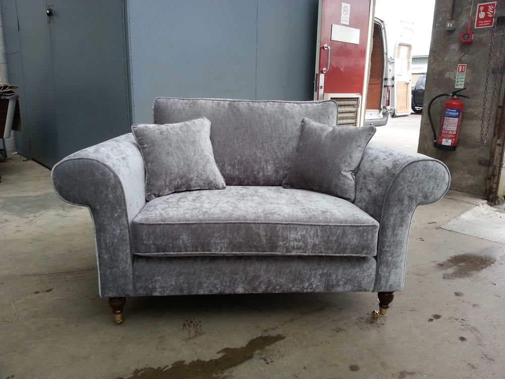 Grey Sofa Couch Colette Sofa Gray American Signature Furniture properly inside Grey Sofa Chairs (Image 14 of 20)