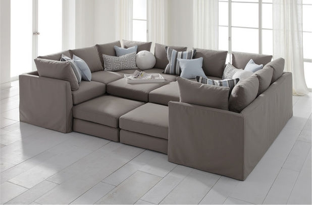 Guest Picks 20 Stylish Comfortable Sectionals good with Extra Wide Sectional Sofas (Image 9 of 20)