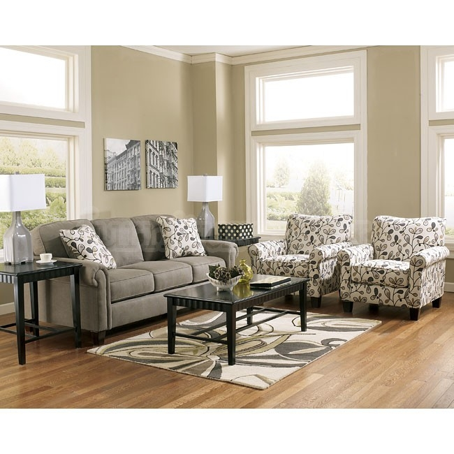 Gusti Dusk Sofa Set W Accent Chairs Furniture Pinterest well pertaining to Sofa and Chair Set (Image 16 of 20)