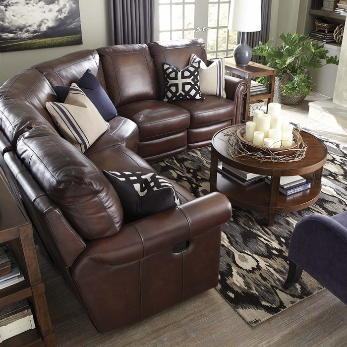 Hamilton Reclining Sectional Sofa Bassett Reclining Sectional very well with Bassett Sectional Sofa (Image 11 of 20)