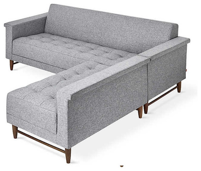 Harbord Loft Bisectional Sofa Gus Modern Midcentury nicely inside Bisectional Sofa (Image 13 of 20)