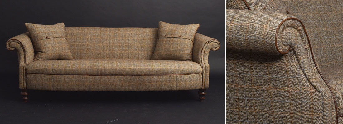 Harris Tweed Fabric Sofas Sofa Menzilperde properly regarding Tweed Fabric Sofas (Image 8 of 20)
