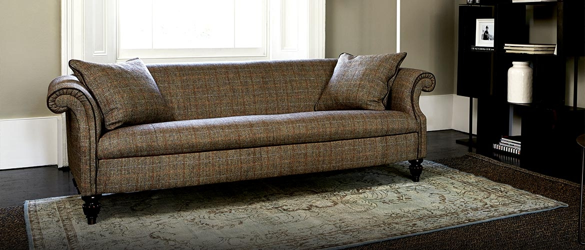 Harris Tweed Fabric Sofas Sofa Menzilperde well in Tweed Fabric Sofas (Image 9 of 20)