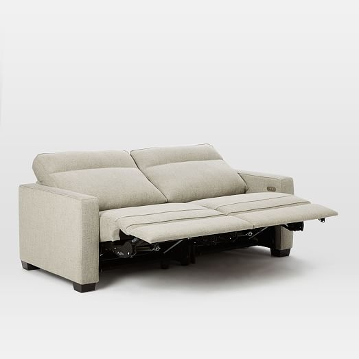 Henry Power Recliner Sofa 77 West Elm well with regard to Recliner Sofa Chairs (Image 10 of 20)
