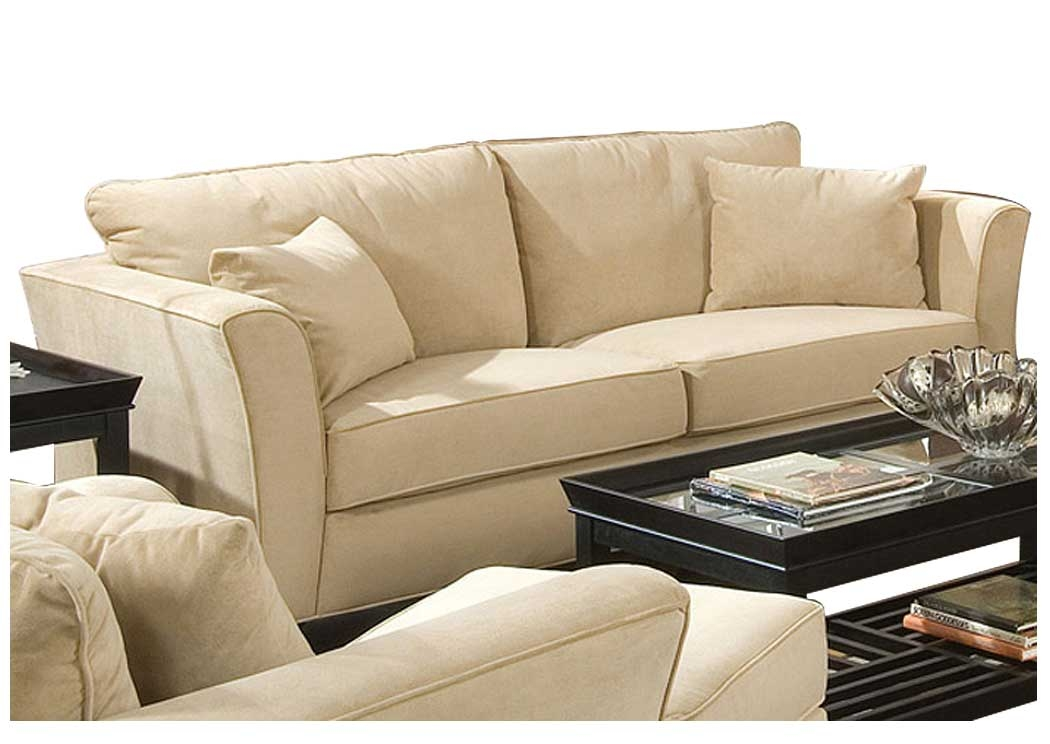 Hidden Treasure Furniture Greensboro Ga Park Place Cream certainly with regard to Cream Colored Sofas (Image 15 of 20)