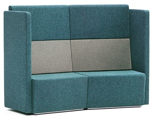 High Back Soft Seating And Sofas Genesys Office Furniture Very Well Inside Sofas With High Backs (View 9 of 20)