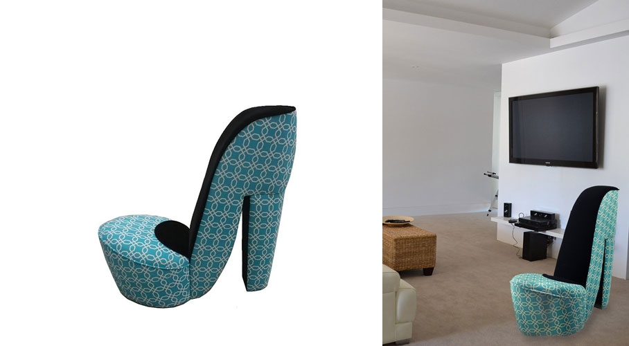 High Heel Shoe Chair Really Cool Chairs very well inside Heel Chair Sofas (Image 14 of 20)
