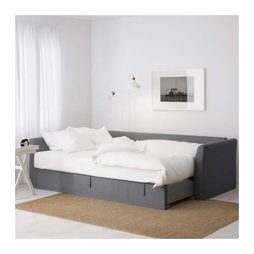 Holmsund Corner Sofa Bed Nordvalla Medium Grey Ikea good regarding Corner Couch Bed (Image 16 of 20)