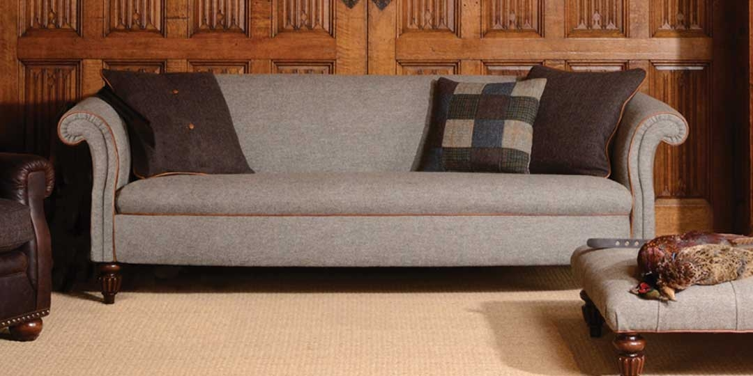 Home clearly intended for Tweed Fabric Sofas (Image 11 of 20)