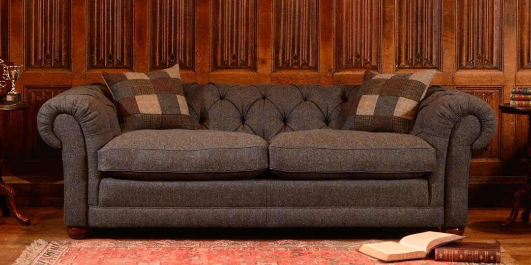 Home perfectly pertaining to Tweed Fabric Sofas (Image 13 of 20)