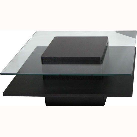 Hong Kong Black Coffee Table In Ash Wood Veneer Black Coffee certainly within Unique Black Glass Coffee Table (Image 10 of 30)