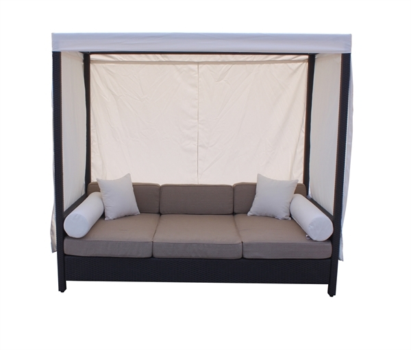 Household Gallery Daybed Sofa With Canopy perfectly with Outdoor Sofas With Canopy (Image 12 of 20)