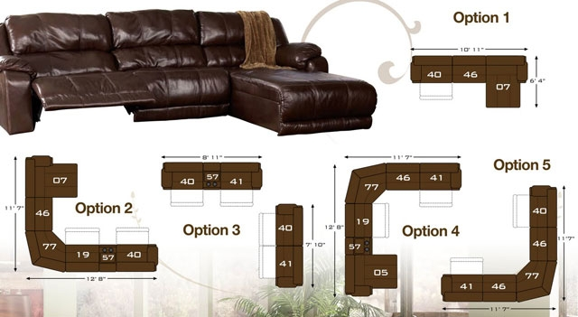 How To Arrange The Braxton Java Sectional Ashley Furniture certainly in Braxton Sectional Sofa (Image 20 of 20)