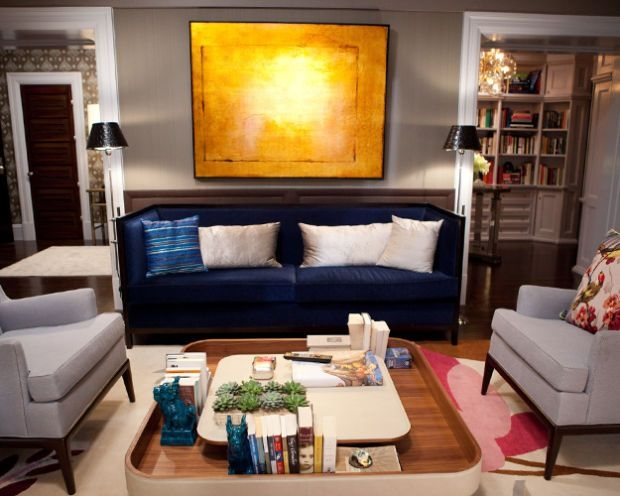 How To Mix A Colorful Sofa Into A Neutral Room Design nicely with Colorful Sofas and Chairs (Image 18 of 20)