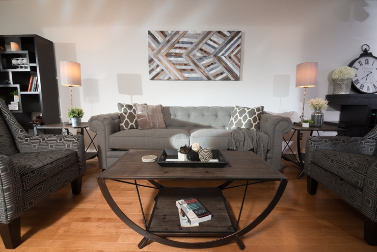 How To Style Traditional Furniture In A Modern Way Video The clearly in Brick Sofas (Image 10 of 20)