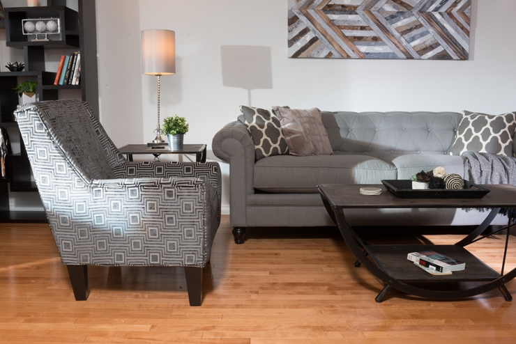How To Style Traditional Furniture In A Modern Way Video The clearly throughout Brick Sofas (Image 11 of 20)