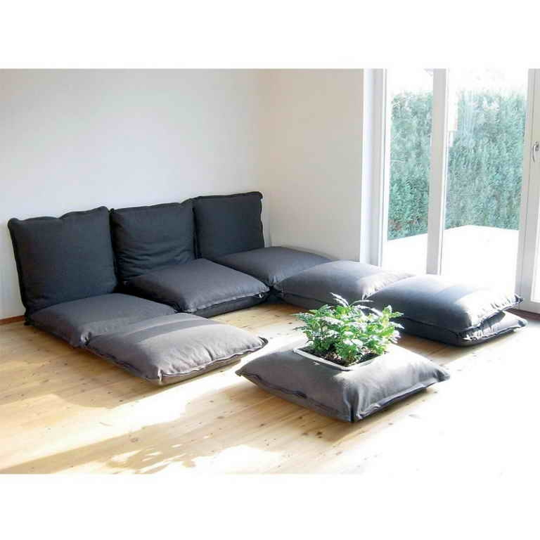 Ideas How To Create A Comfy Floor Seating Cushion Inspiring good pertaining to Comfy Floor Seating (Image 17 of 20)