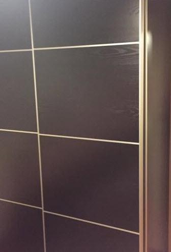 Ikea Dark Wood Wardrobe Secondhandhk effectively regarding Dark Wood Wardrobes Ikea (Image 29 of 30)