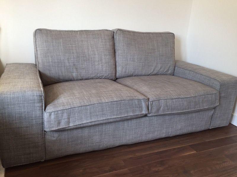 Ikea Kivik 2 Seater Sofa Isunda Grey In Southampton Hampshire Very Well Throughout IKEA Two Seater Sofas (View 6 of 20)