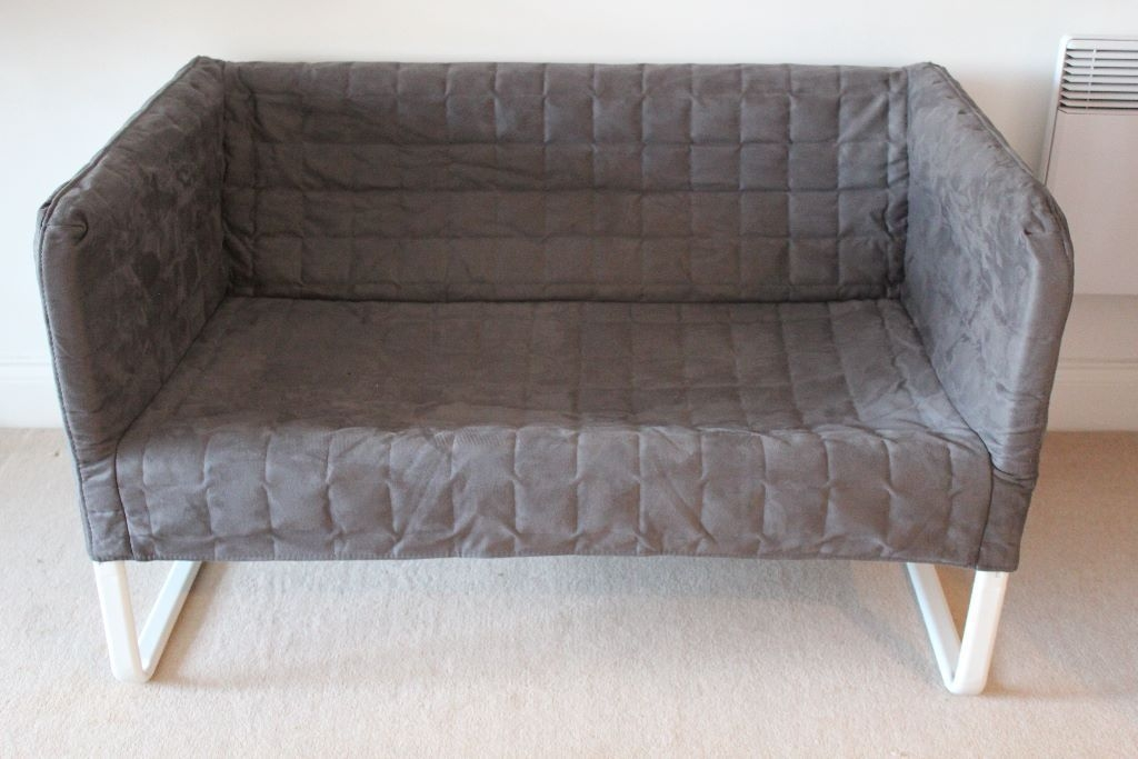 Ikea Knopparp 2 Seater Sofa Dark Grey Almost New In Catford good intended for IKEA Two Seater Sofas (Image 7 of 20)