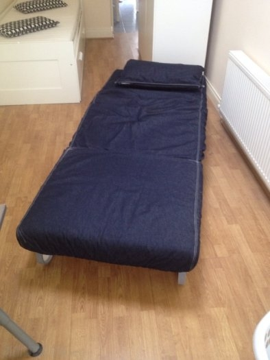 Ikea Lovas Single Sofa Bed For Sale In Clonsilla Dublin From well regarding IKEA Single Sofa Beds (Image 9 of 20)