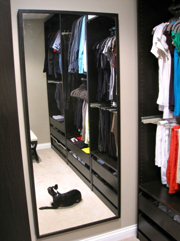 Ikeas Pax Closet Systems An Honest Review Driven Decor good regarding Double Rail Wardrobes Ikea (Image 13 of 30)