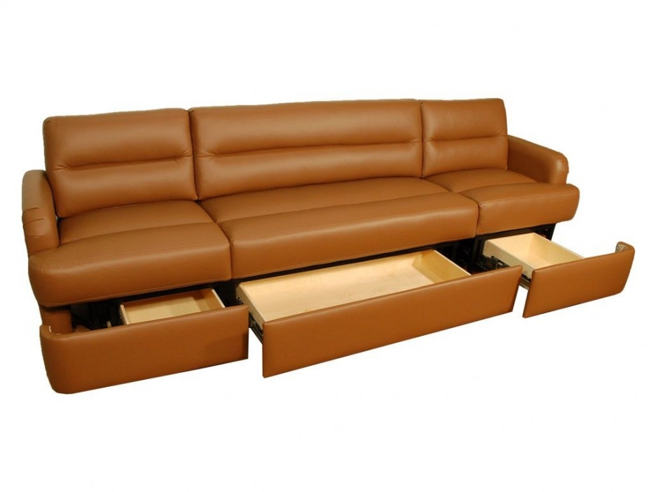 Impressive Dual Purpose Long Couch With Comfy Durable Brown properly within Durable Sectional Sofa (Image 6 of 20)