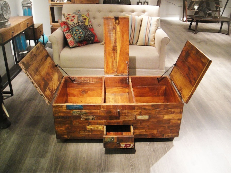 Incredible Wood Coffee Table With Storage Stunning Storage Trunk Definitely In Storage Trunk Coffee Tables (View 11 of 20)