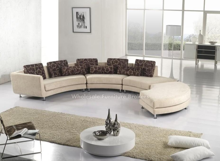 Inspiration Idea Leather Fabric Sectional Sofa With Modern Fabric definitely with regard to Cloth Sectional Sofas (Image 7 of 20)
