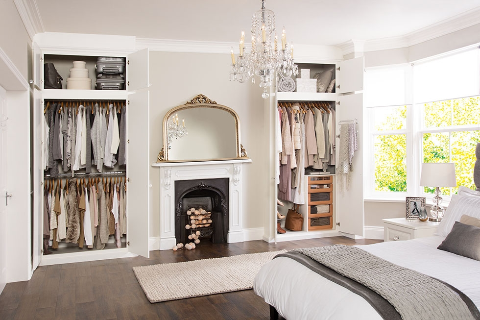 Inspirational Storage Ideas And Expert Advice Real Homes perfectly intended for Tall Double Hanging Rail Wardrobes (Image 28 of 30)