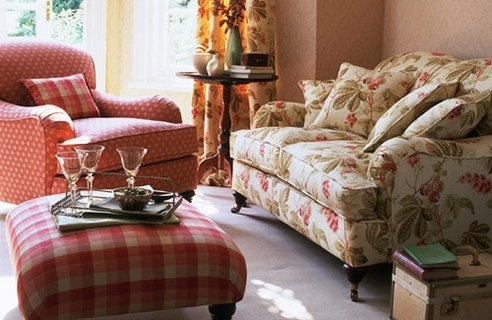 Inspiring Country Style Living Room Furniture Ideas Country Effectively With Country Sofas And Chairs (View 12 of 20)