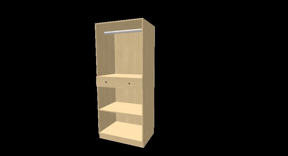 Internal Wardrobe Drawers Inova Sliding Door Wardrobe Slider definitely within 2 Door Wardrobe With Drawers And Shelves (Image 15 of 30)