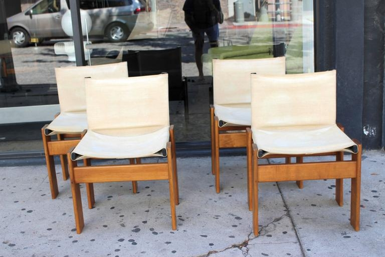 Italian Set Of Four Monk Chairs Designed Afra And Tobia effectively pertaining to Monk Chairs (Image 4 of 20)