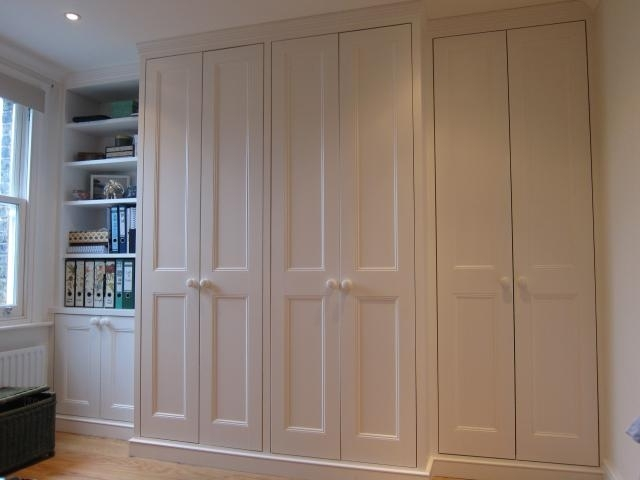 James Carpentry Alcove Cabinets Wardrobes Bookcases Wardrobes effectively with Solid Wood Fitted Wardrobes (Image 9 of 30)
