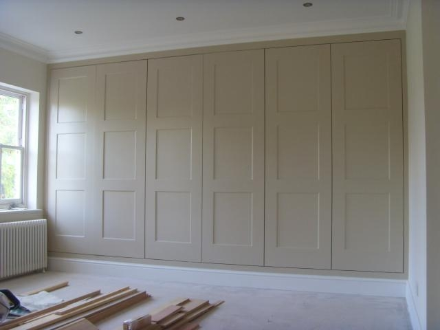 James Carpentry Alcove Cabinets Wardrobes Bookcases Wardrobes very well in Fitted Wooden Wardrobes (Image 7 of 30)