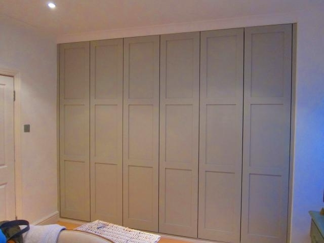 James Carpentry Alcove Cabinets Wardrobes Bookcases Wardrobes very well inside Solid Wood Fitted Wardrobes (Image 21 of 30)