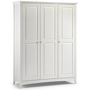 Jayden 3 Door Wardrobe Classic Shaker Style Wardrobe Double clearly within Double Hanging Rail For Wardrobe (Image 14 of 30)