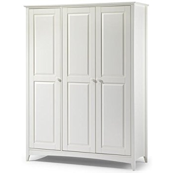 Jayden 3 Door Wardrobe Classic Shaker Style Wardrobe Double perfectly intended for Large Double Rail Wardrobes (Image 14 of 30)