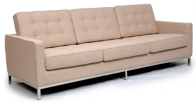 Kardiel Midcentury Modern Florence Sofa 3 Seat Modern Sofas good pertaining to Florence Sofas (Image 19 of 20)